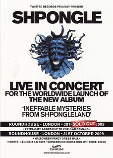 UK concert flyer back