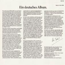 LP Germany insert 1
