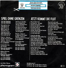 "7"" Germany back"