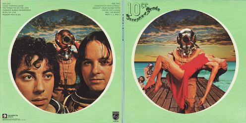 LP Canada 1st printing front/back