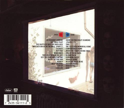 CD Canada slip-case back