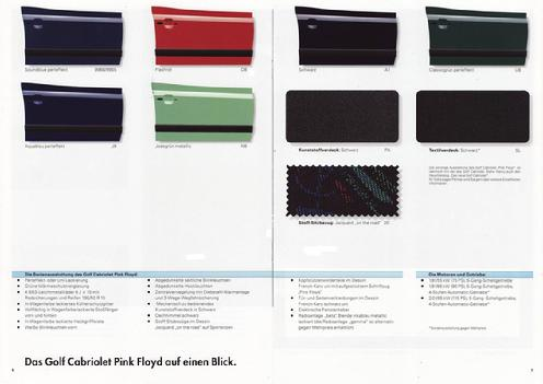 Cabriolet brochure pages 6 & 7