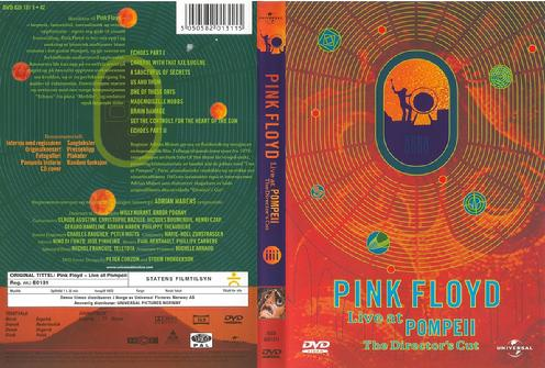 DVD Norway front/back