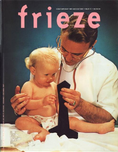 Frieze magazine #37 1997 front
