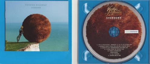 CD digipak inside w/booklet & label