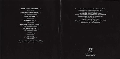 CD US insert inside